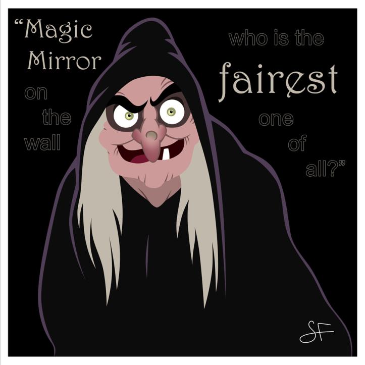 Queen Grimhilde/Disney Villains