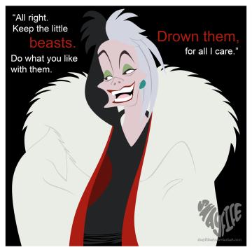 -Cruella De Vil