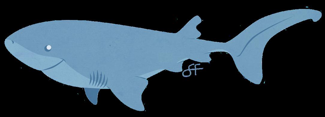 bluntnose_sixgill_shark_by_lilowlaroo-d7uvaob
