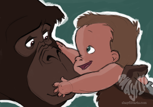 Tarzan and Kala