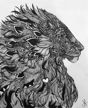 Lion by Stephanie Fife